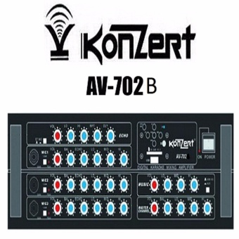 Konzert Av-702B High power Karaoke Amplifier Price Philippines
