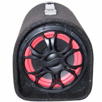 Kuku Portable 5inch Subwoofer Speaker with Karaoke mic-input andBluetooth (Black) - 2