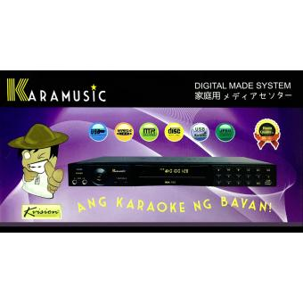 KVISION KARAMUSIC KM-102 ADVANCE USB TECHNOLOGY KARAOKE SYSTEM Price Philippines