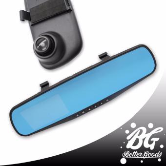 L501 Vehicle Blackbox DVR Car Rear Mirror Full HD 1080 Single Channel Recorder (Black)