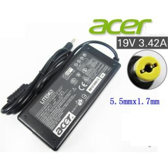 laptop charger FOR ACER 19v 3.42a 65w for E5-411 E5-521 E5-721E5-731 E5-421 E5-471 E3-111(BLACK)