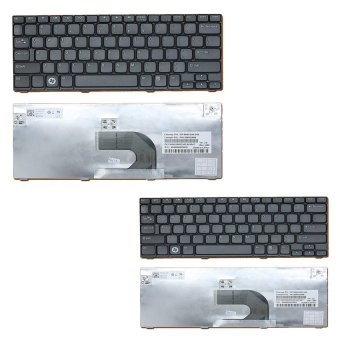 Laptop Keyboard for Dell Mini 1012 1018 Set of 2