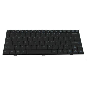 Laptop Keyboard suited for Toshiba C650 (Black)