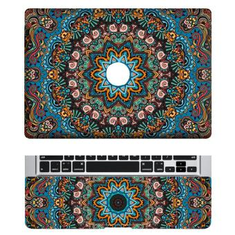 Laptop Protective Full-cover Skin Decal Sticker Cover Protector with Partial Cover for Apple 13 inch MacBook Pro Retina 2016 A1706 A1708 Style C - intl