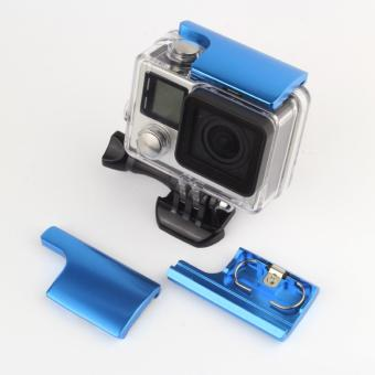 LATCH Accessories FOR GoPro Aluminum Lock Buckle Accessories Snap Latch Back Door Clip for Go Pro Hero 3+ 3 Plus Hero 4 Waterproof Housing Case