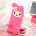 Lazy cute cartoon mobile phone holder mobile phone support live rack