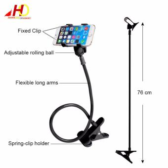 Lazypod with Universal Mobile Phone Holder (Black) - 5