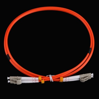 LC to LC Fiber Patch Cable Cord Jumper Duplex MM 62.5/125 1M 3.0mmLC-LC - intl Price Philippines
