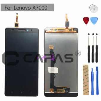 LCD Display For Lenovo A7000 + Tools + 3M Tape Touch Screen Panel Assembly LCD Digitizer For Lenovo A7000 Repair Spare Parts - intl