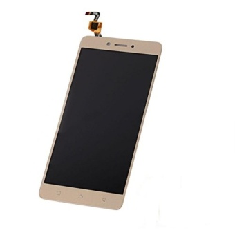 Lcd Replacement Screen For Lenovo K6 Note Gold LCD Display TouchScreen Digitizer Assembly +Tools - intl