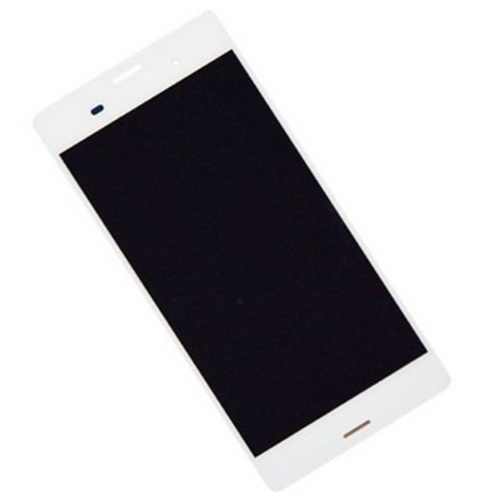 lcd screen Complete Screen lcd display touch screen replacementparts white for sony Xperia .
