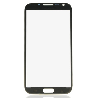 LCD Screen Lens Glass for Samsung Galaxy Note II N7100 (Black)