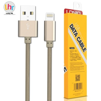 LDNIO LS08 1M Fast Charge Micro USB Cable for iPhone 6/6s/7 (Gold) Price Philippines