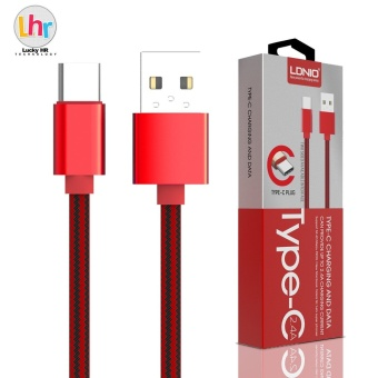LDNIO LS60 1M Type-C USB Data Charging Cable For Mi 4C / Meizu PRO5 (Red) Price Philippines