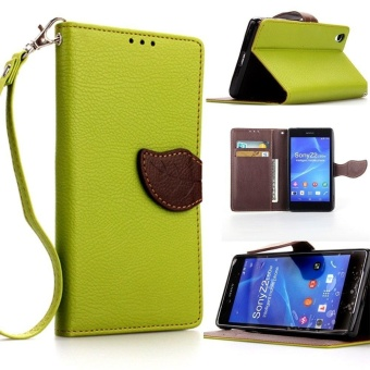 Flip Source · Leaf Magnetic Closure Style Pu Leather Wallet Stand Feature Flipfolio .