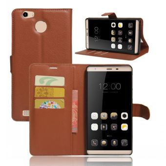 LEAGOO embossed leather wallet phone case