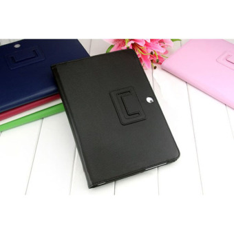 Leather Case Cover Stand For Samsung Galaxy Tab 2 10.1 P5100 P5110Black