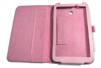 Leather Case for Asus Memopad 7 ME70CX (Pink) - picture 2