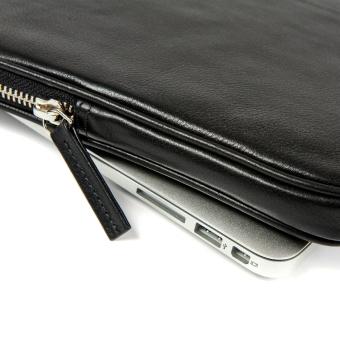 "Leather Case for MacBook Pro 13"" (Premium Black) - picture 2"