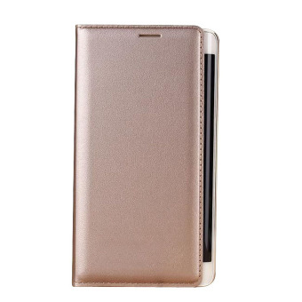 Leather Cover for Samsung Galaxy Note Edge N9150 (Gold) - intl