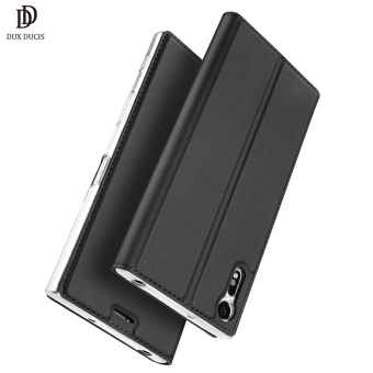 "Leather Flip Case For Sony Xperia XZ Premium Case XZP ProtectiveWallet Book Cover For Sony XZ Premium 5.5"" HandPhone Casing Shell -intl Price Philippines"