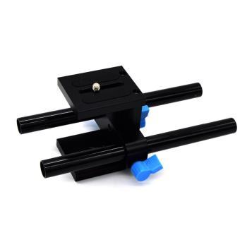 Leegoal 15mm Rod Rail Support System Quick Release Mount For DSLRFollow Focus Rig 5D2 5D3 - Intl - 2