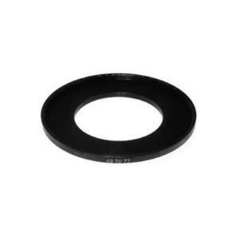 Leegoal Black Aluminium Alloy 49mm to 77mm Step Up Ring FilterAdapter for SLR Cameras - intl