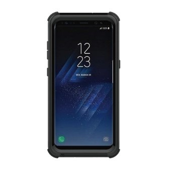 leegoal Galaxy S8 Plus Waterproof Case, Water/Dirt/Shock Proof Floating Full-covered Protective Case For Samsung Galaxy S8 Plus, Black - intl
