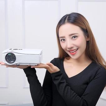 leegoal Home HD Projector Mini Portable 1080P Apple Andriod MobilePhone Projector HDMI AV Interface - 3