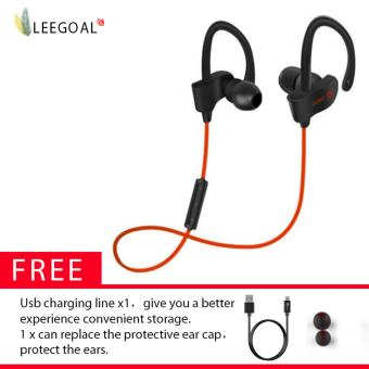 leegoal Ubit 56S Sports In-Ear Wireless Bluetooth Earphone StereoEarbuds Headset Bass Earphones With Mic For IPhone 6 Samsung Phone- intl Price Philippines
