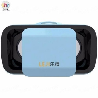 LEJI VR Box VR Mini Immersive 3D VR Virtual Reality Glasses for Smartphones (Blue) Price Philippines