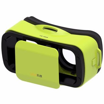 LEJI VR Mini Immersive VR BOX Virtual Reality 3D Glasses for Smartphone (Green)
