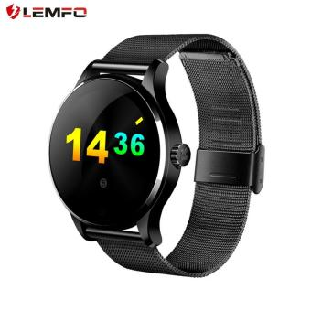 LEMFO K88H Pedometer Heart Rate Monitor Smart Watch for iOS for Android Black - intl