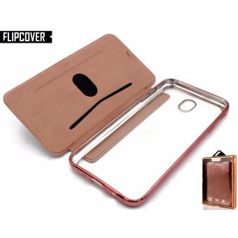 Lepards Luxuy New Flipcover Leather + TPU Case with Card Slot Back Case for Samsung Galaxy J7 Pro
