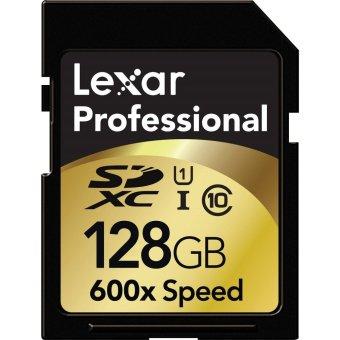 Lexar Professional 600x128GB SDHC UHS-I (Black)