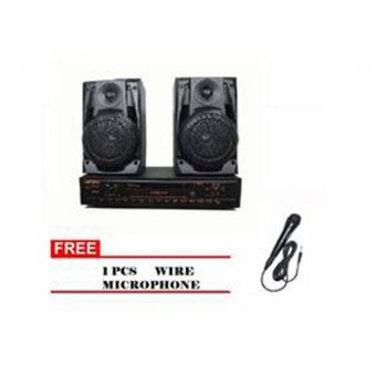 Lexing Karaoke DVD With Speaker (Black)T-926/T-936