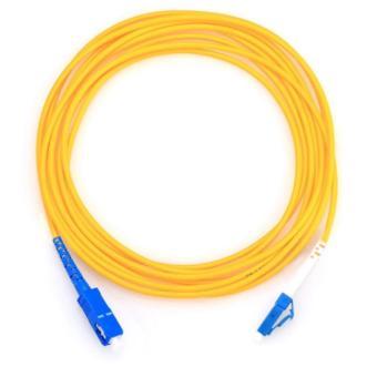 Detail Images LF-FO-JC-0203 3M(10ft) SC-LC Simplex 9/125 SingleMode Fiber Optic Cable Jumper Cable(Yellow) Ubdate
