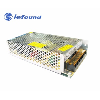 LFOUND Switching Power Supply 220V 10A CCTV LEDs Power Supply (Silver)