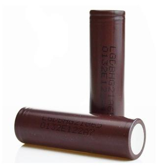 LG-18650 3000mAh Flat Top Rechargeable Battery (Choco) Set of 2