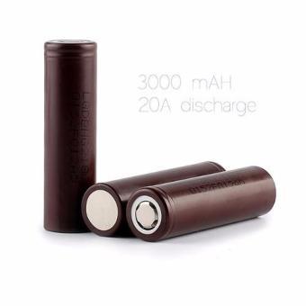 LG 18650 HG2 Choco 3000mAh Battery (2 Pieces) - 2