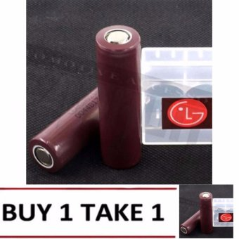 LG Choco 18650 3000mAh Flat Top Rechargeable Battery SET OF 2 BUY 1 TAKE 1