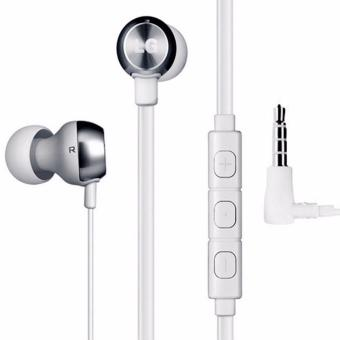 LG Electronics Quadbeat 2 Wired Stereo Headset (White)
