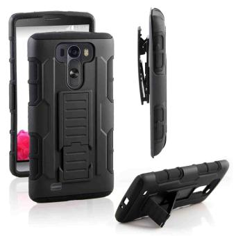 LG G3 Optimus Designer (Black) Phone Case with Kickstand