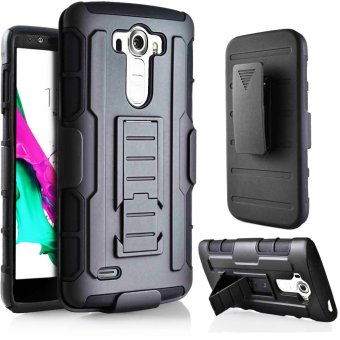 LG G4 Optimus Designer (Black) Phone Case with Kickstand