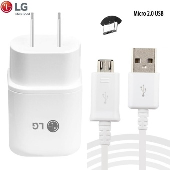 LG Original Fast Charger 1.8A For LG G3 / G4 (H819) w/ USB Micro2.0