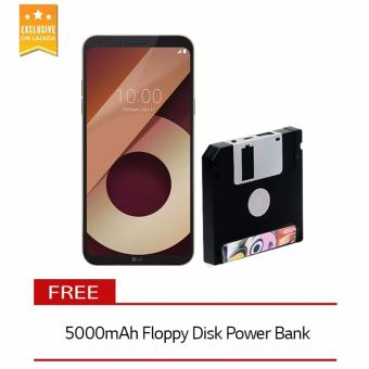 LG Q6 32GB (Terra Gold) with Free 5000mAh Floppy Disk Power Bank