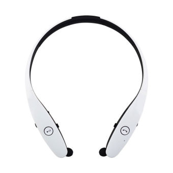 LG Tone HBS-900 Wireless Bluetooth Stereo Headset (White) - Intl Price Philippines