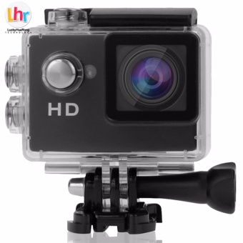 LHR A7 1080p Waterproof Sports Action Camera (Black)