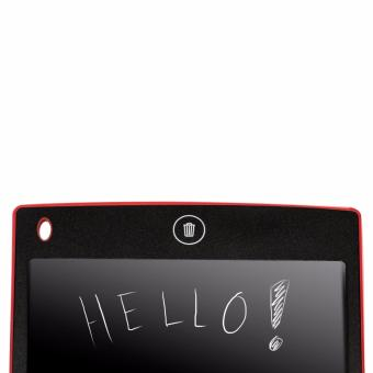 LHR HSD1200 Ultra-thin One Button LCD Writing Tablet (Red) - 4