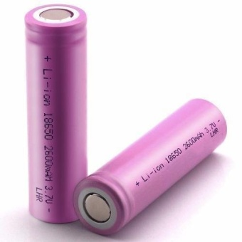 LHR Li-ion 18650 2600mAh 3.7V Battery For Electronic Cigarette (Pink)